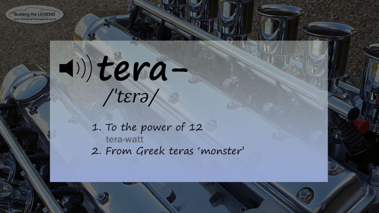 Introducing the tera